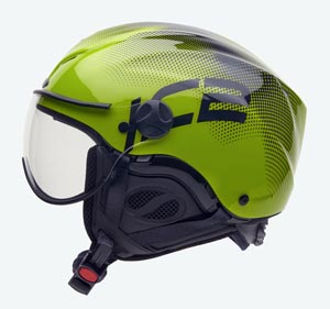 Capacete Icaro Nerv - Black and Green