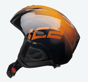 Capacete Icaro Nerv - Black and Orange