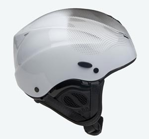 Capacete Icaro Nerv - Black and White
