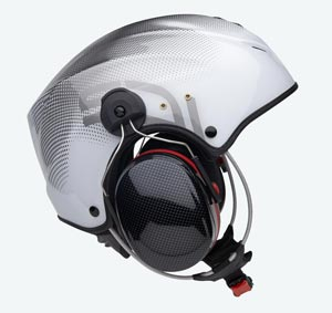 Capacete Icaro Solar X - Black and White
