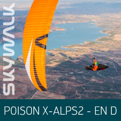 Parapente Skywalk POISON X-ALPS2 - EN D