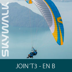 Parapente Skywalk JOIN´T3 Voo Duplo - EN B