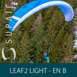 Parapente SupAir LEAF2 LIGHT - EN-B